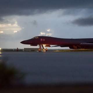 170923 F UA699 1006 320x320 - US bombers, fighter jets fly over waters off North Korean coast in show-of-force against North Korea's 'reckless behavior'