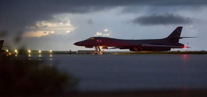 170923 F UA699 1006 720x340 - BREAKING: US bombers, fighter jets fly over waters off North Korean coast in show-of-force against North Korea's 'reckless behavior'