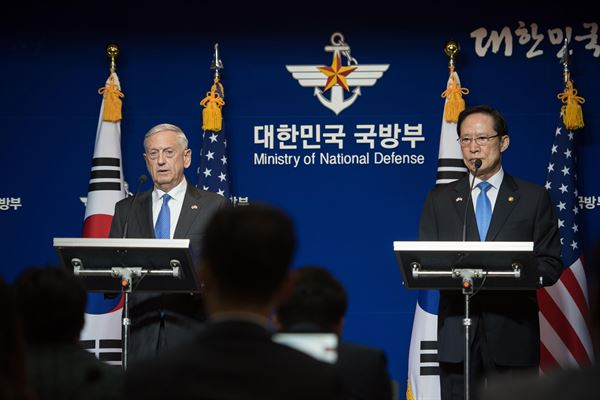 Mattis: The US would not accept an 'accelerating' nuclear-armed North Korea Featured