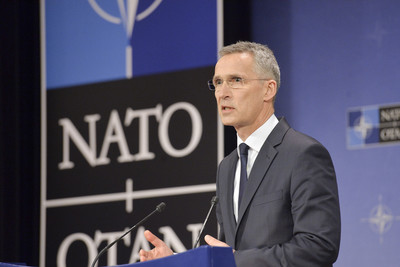 NATO chief defends alliance, calls for Europe, US to work more closely