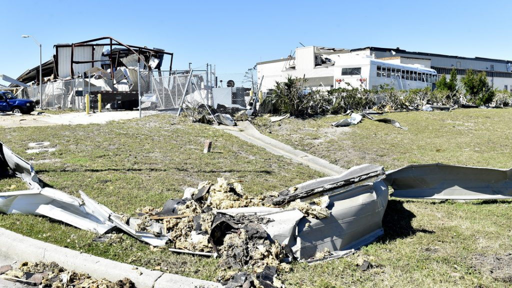 Panama City Navy base still recovering a year after Hurricane Michael
