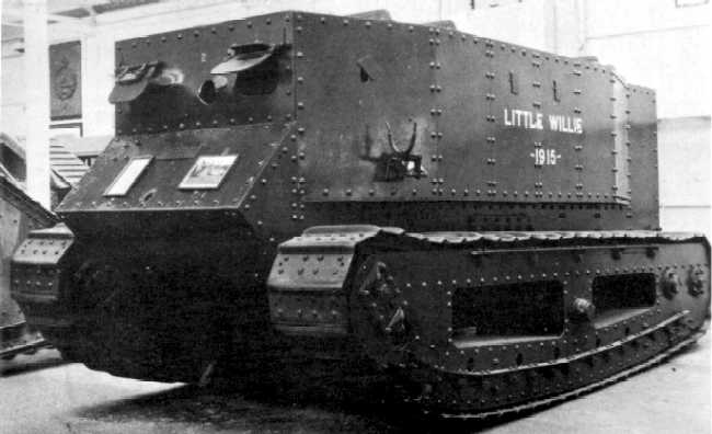 This Day In History: The First Tank Prototype, Little Willie, Was Completed And Given Its First Test Drive Featured