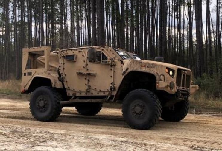 Army Reserve pilot program at Fort McCoy among first to access new joint light tactical vehicle