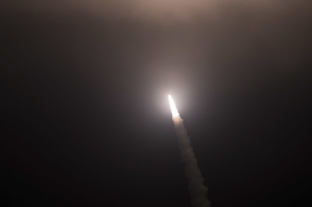 VIDEO: ICBM launched from Vandenberg Air Force Base as part of test