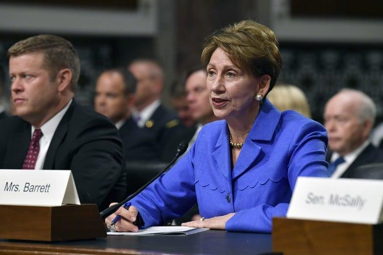 Senate confirms Barbara Barrett to be Air Force secretary