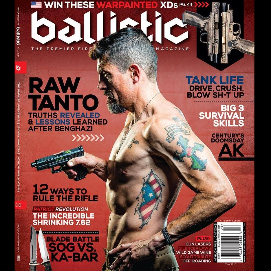 19905040 1639295602782426 881819996240367751 n - Benghazi hero Kris 'Tanto' Paronto lands on the cover of Ballistic magazine