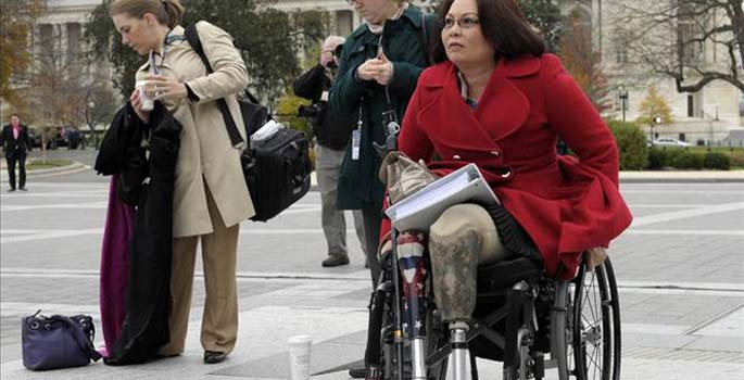 (VIDEO) Disabled Vet Rep. Tammy Duckworth Grills IRS Contractor Featured