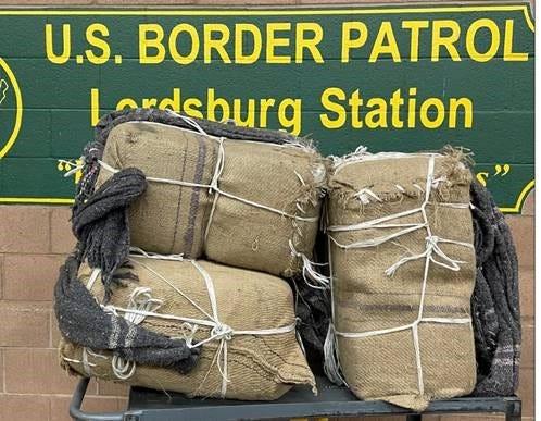 Border Patrol finds stash of drugs in New Mexico desert