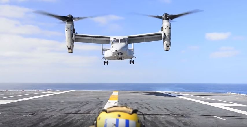 22 Osprey - US Marine Corps grounds all aircraft for 24 hours following deadly crashes