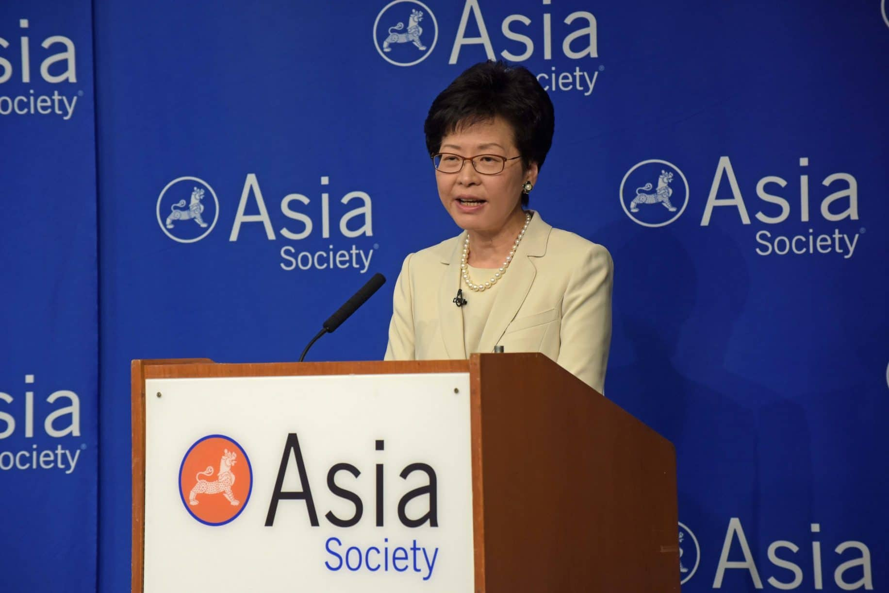 Carrie Lam targets Hong Kong's youth with changes to education, job scheme