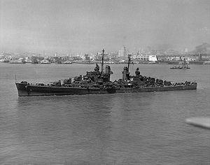 Cruiser USS Oakland (CL-95), WWII