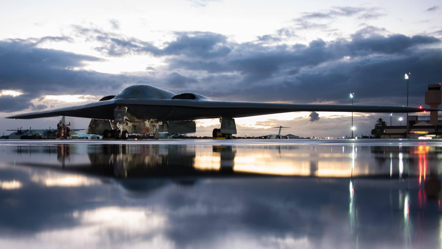 Here's badass footage for the B-2 stealth bomber's 30th birthday