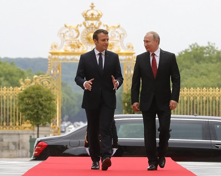 Macron tells Putin Syria cease-fire should be extended