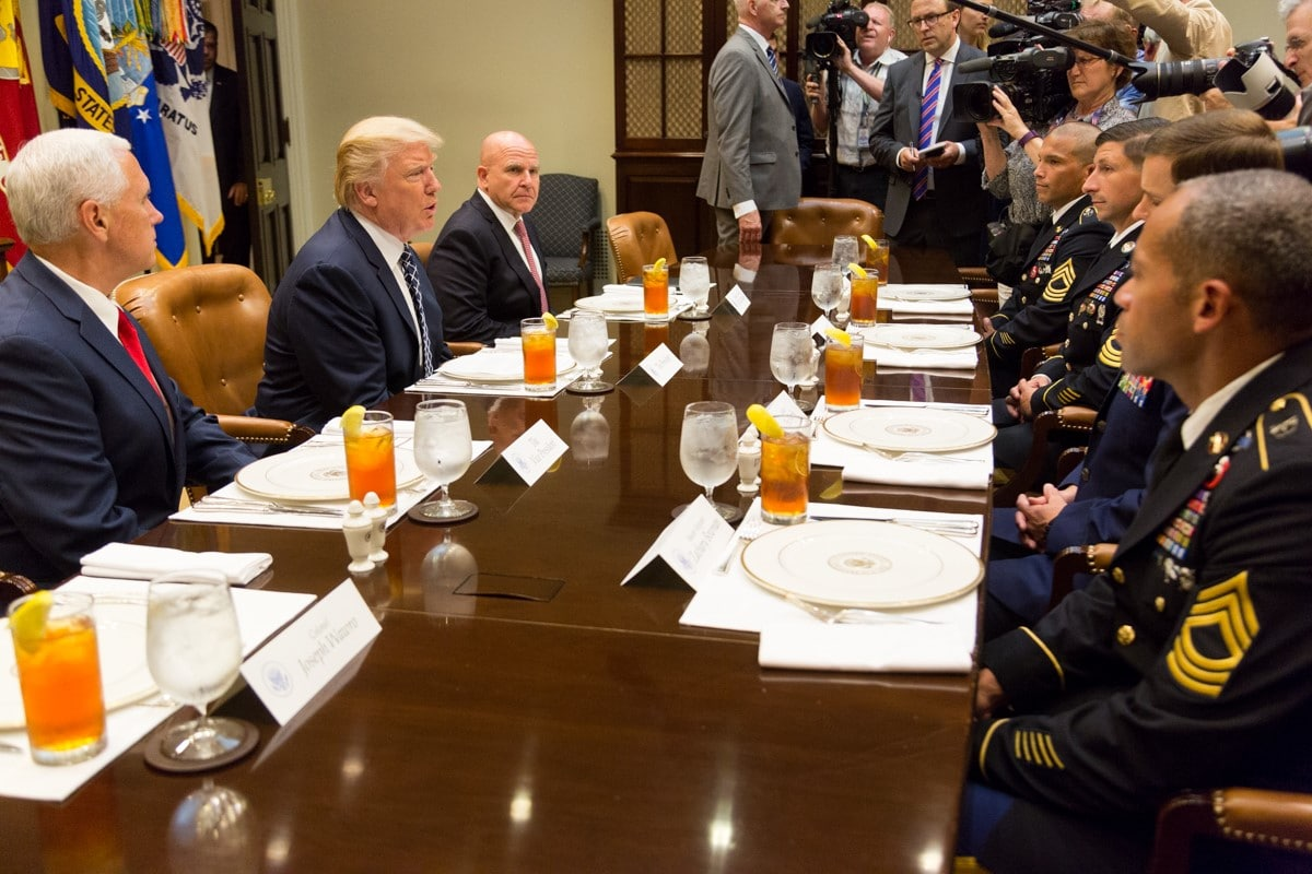 Fmr. Trump Nat'l Sec Advisor McMaster says US peace deal is 'partnering with Taliban against Afghan gov't'