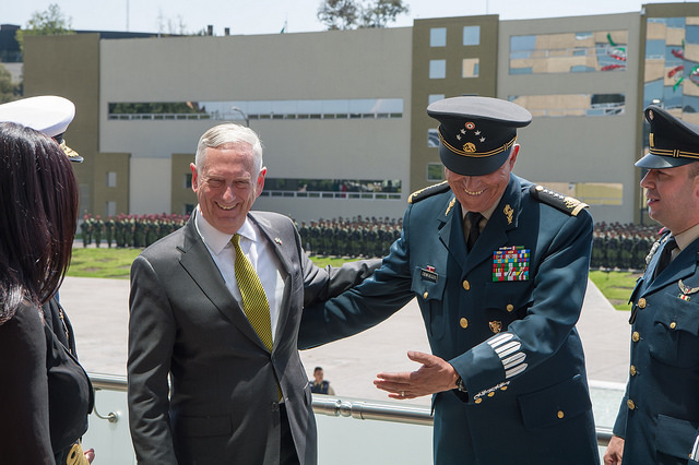 In Mexico, Mattis plays down political rhetoric, seeks to build trust Featured