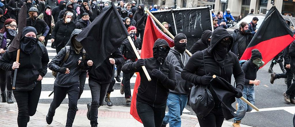 Portland considers public mask ban after Antifa violence