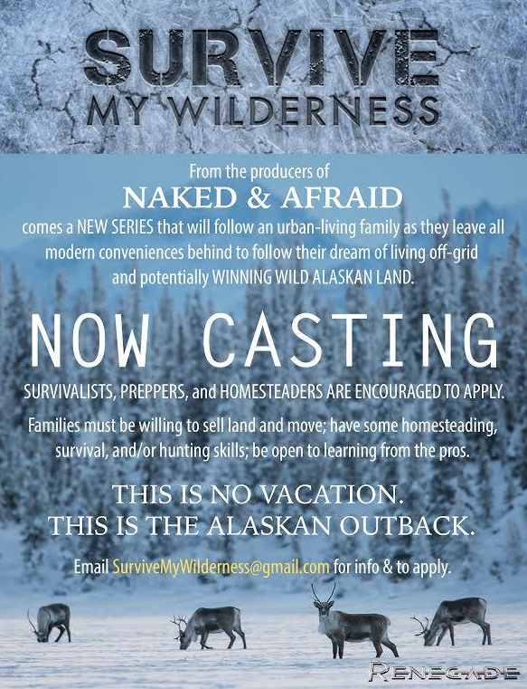 """ALERT! Open TV Casting Call From The Creators Of Discovery Channel's Hit Show """"Naked & Afraid"""" Featured"""