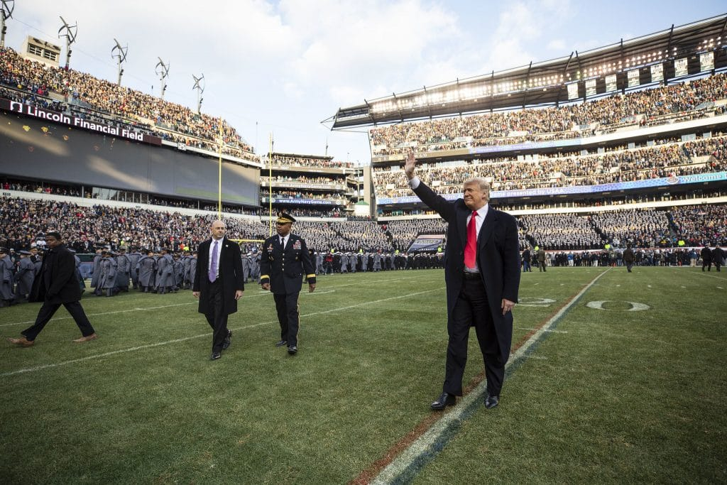 Trump to attend Army-Navy game this weekend, White House confirms
