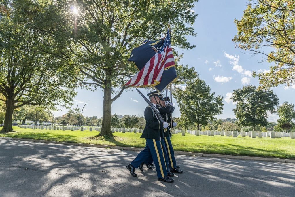 VIDEOS: Hundreds attend services for Korean War veteran with no family