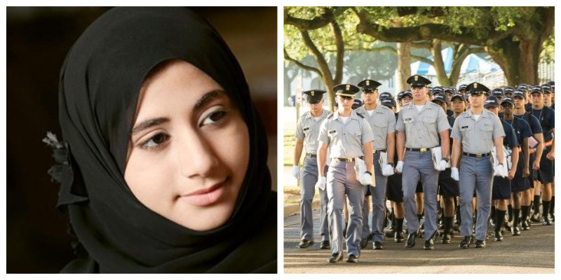 Citadel Military College Hijab Muslim Islam Denied