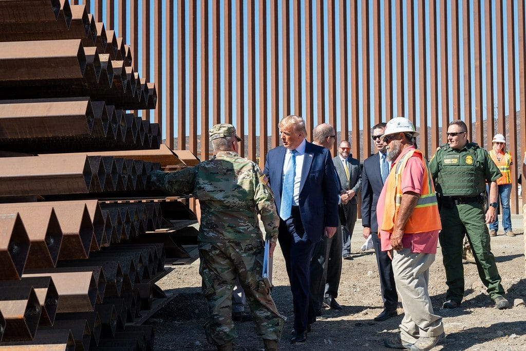 Trump considering $18 billion in Pentagon funds for border wall construction: report