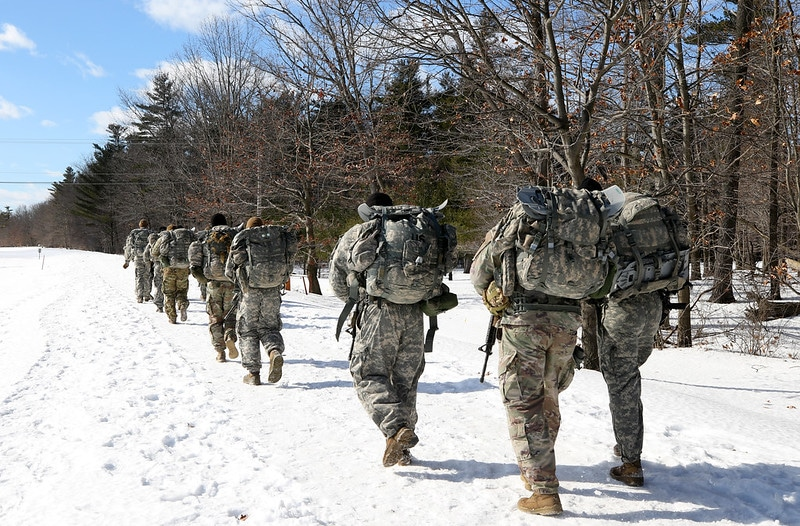 Pics/Video: Fort Drum soldiers compete in winter training