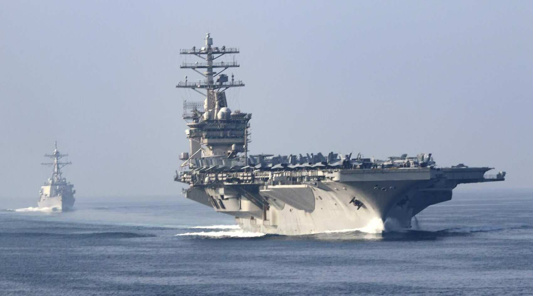 Report: Iran fired missiles within 100 miles of USS Nimitz aircraft carrier, within 20 miles of commercial vessel