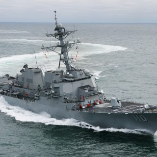 USS William P. Lawrence in the Gulf of Mexico