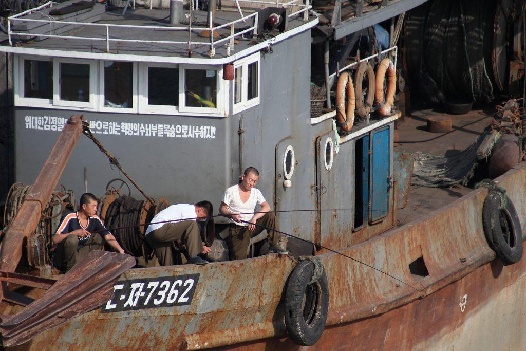 Russian border guards fire on North Korean fishing boat, detain 21 crew members