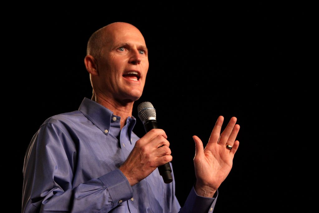 Soldiers should be able to sue military doctors for poor medical care, Rick Scott says