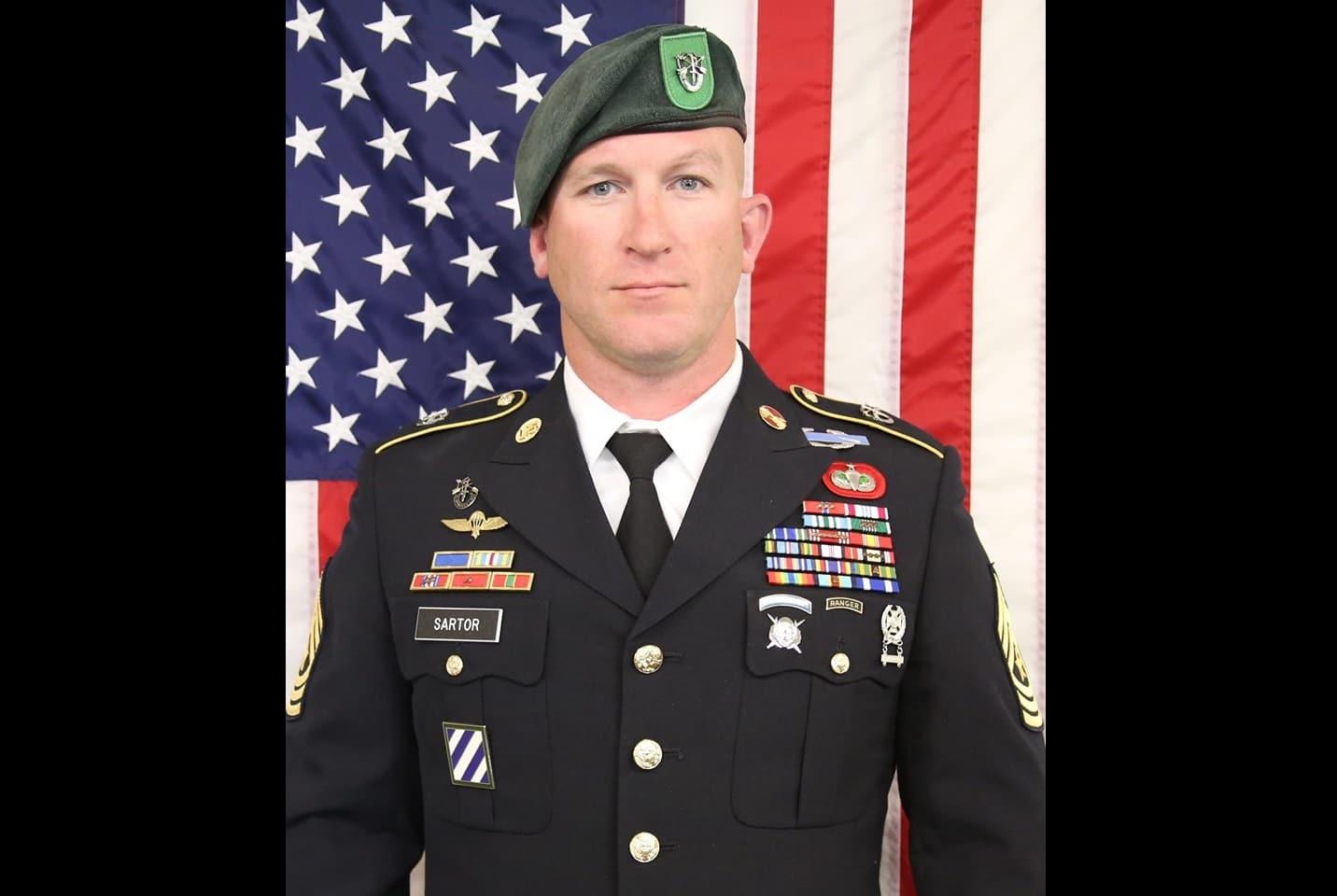 VIDEO: Denver Broncos embrace family of late Fort Carson Green Beret Ryan Sartor
