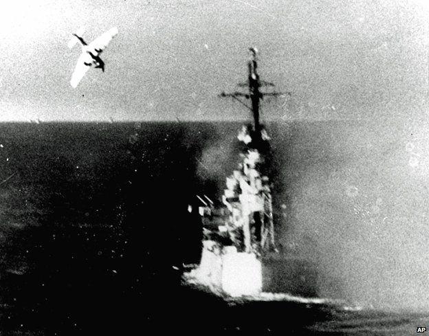 73205991 kamikaze attack - WWII Veteran Recounts Locking Eyes With Kamikaze Jet Pilot Moments Before Impact