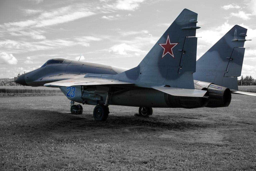 Soviet-made MiG-29 jet in Slovakia's Air Force crashes, pilot survives