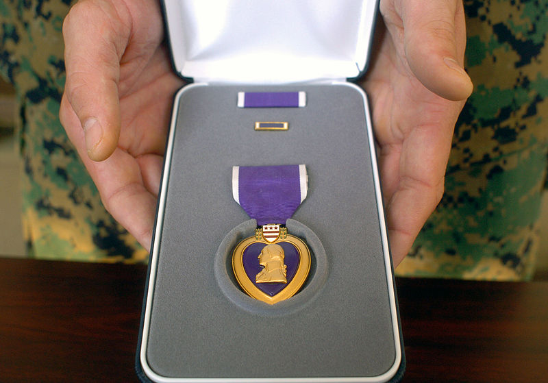 Stolen WWII Purple Heart Earned At 'Battle Of the Bulge' Mysteriously Reappears In Victim's Walkway Featured