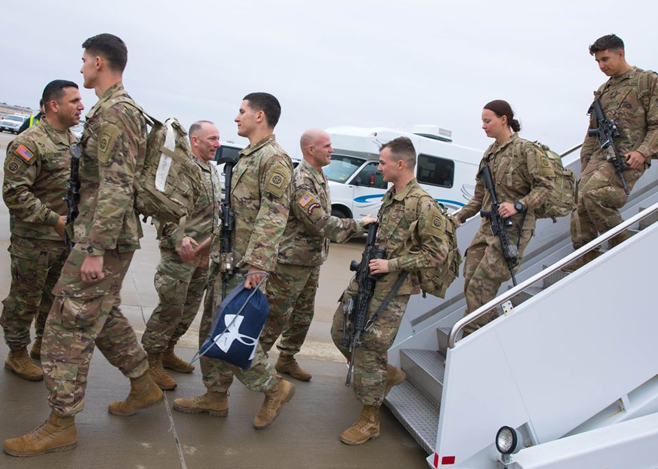 82nd Airborne Division returns home from Middle East deployment