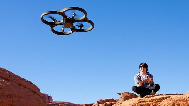 Parrot Drone Camera You Control With Your Phone — Official Video Featured