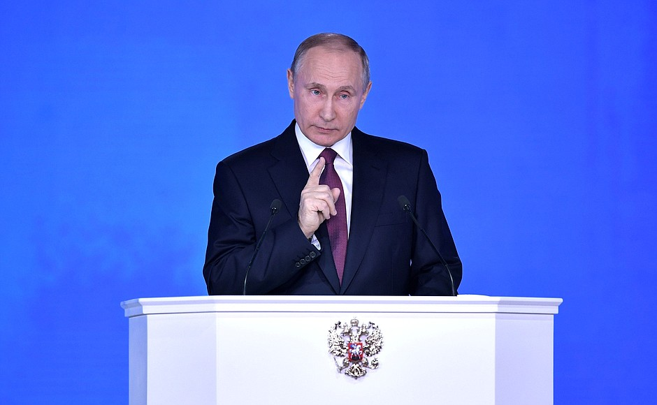 Putin threatens Russia will develop new nukes if the US does