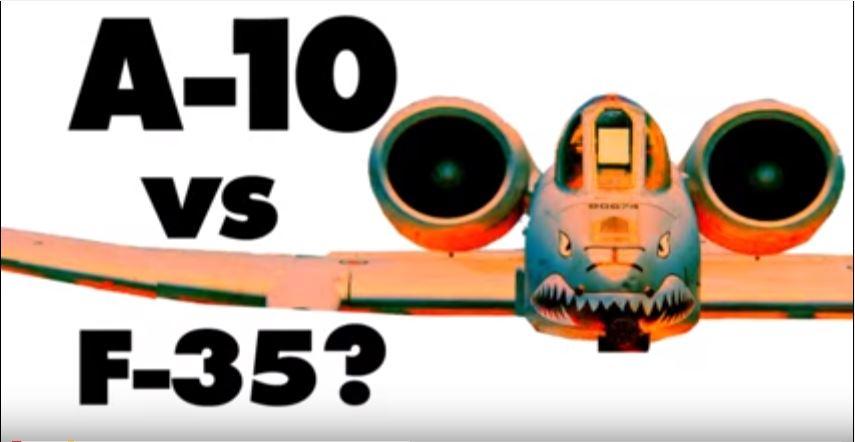 A-10 vs F-35