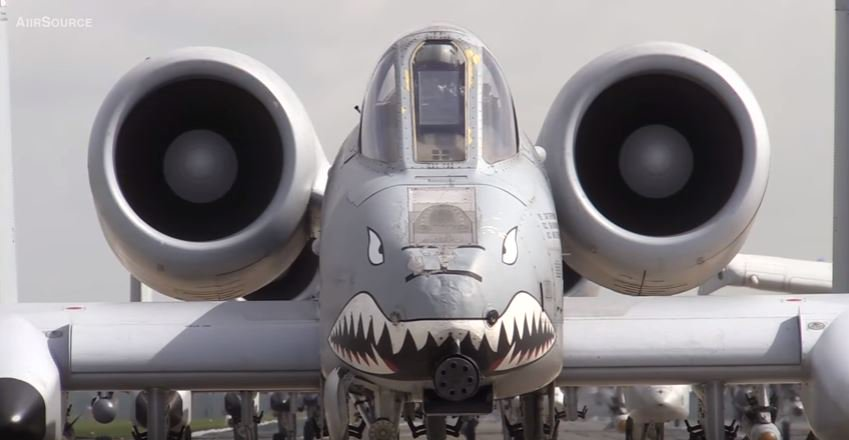 A 10 - U.S. Air Force 23d Wing Conducts Elephant Walk To Demonstrate Its Rapid Deployment Ability