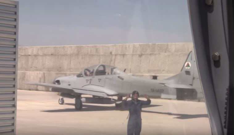 A 29 Light Attack Aircraft - Watch An A-29 Super Tucano Aircraft Drop A Bomb In Afghanistan During Training