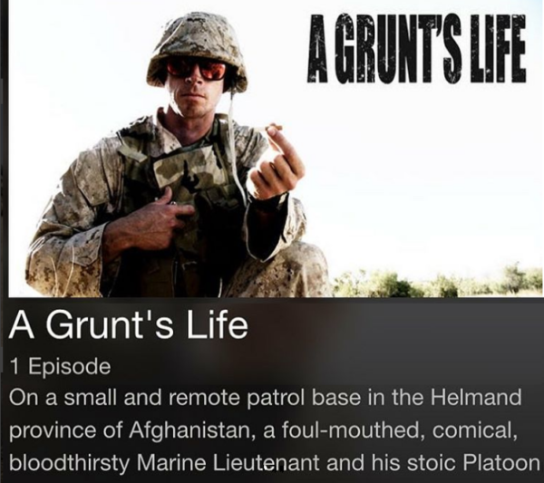 A Grunts Life 600x533 - Why you should be watching VET Tv