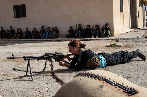 Iraqi Woman Shoots Dead ISIS Commander That Once Made Her A Sex Slave Featured