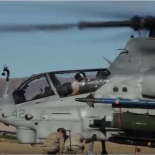 AH 1 Cobra Attack Helicopter