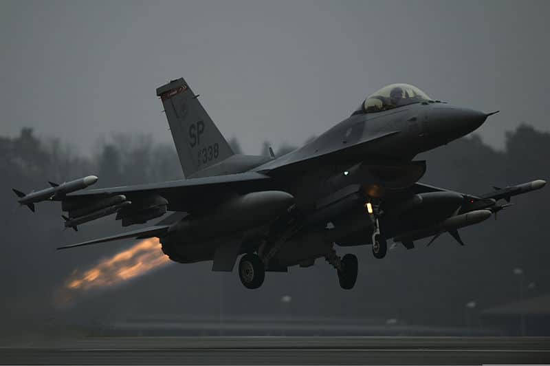 US Air Force F-16 jet crashes in Germany