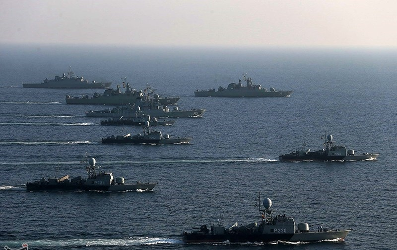 Iran dispatches 13 military naval ships over a year