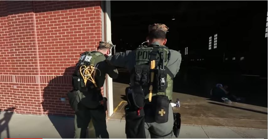 Parris Island Military Police Respond To Active Shooter & Hostage Situation Training Exercise Featured
