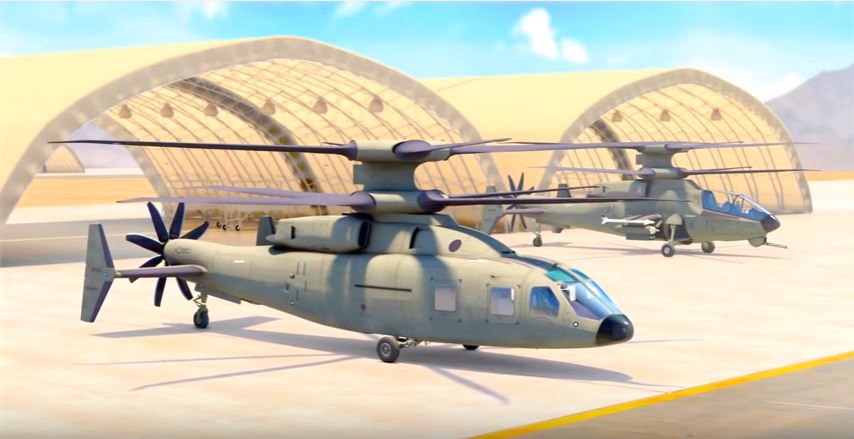 Advanced Helicopter - See The New U.S. Army's Joint Multi-Role Future Vertical Lift-Medium Helicopter Tech Prototype