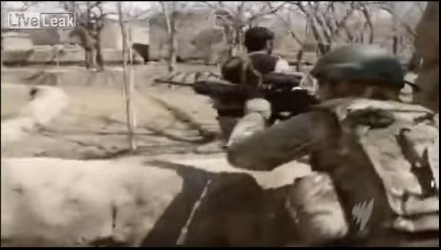 (WATCH) U.S. Green Berets In Heavy Firefight With Taliban Fighters In Afghanistan Featured
