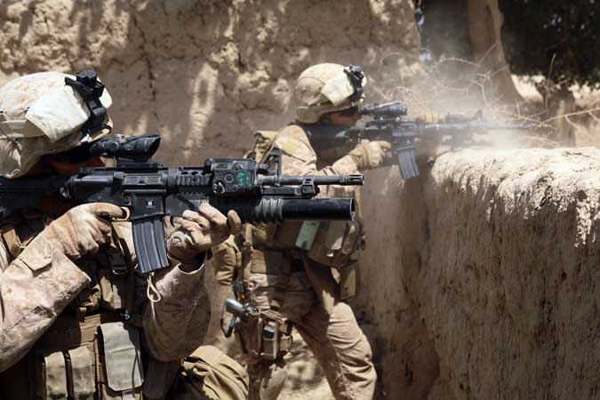 U.S. Casualty Rate In Afghanistan For March: ZERO Featured