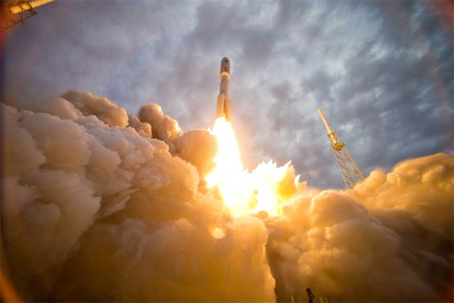 Secret Government Satellite Heads To Space Featured